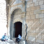The sanctuary entrance of Lalish