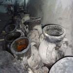 jarres à huile en poterie