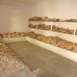 les réserves de pain