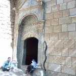 The sanctuary entrance of Lalish