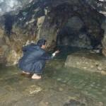 la source souterraine et sacrée
