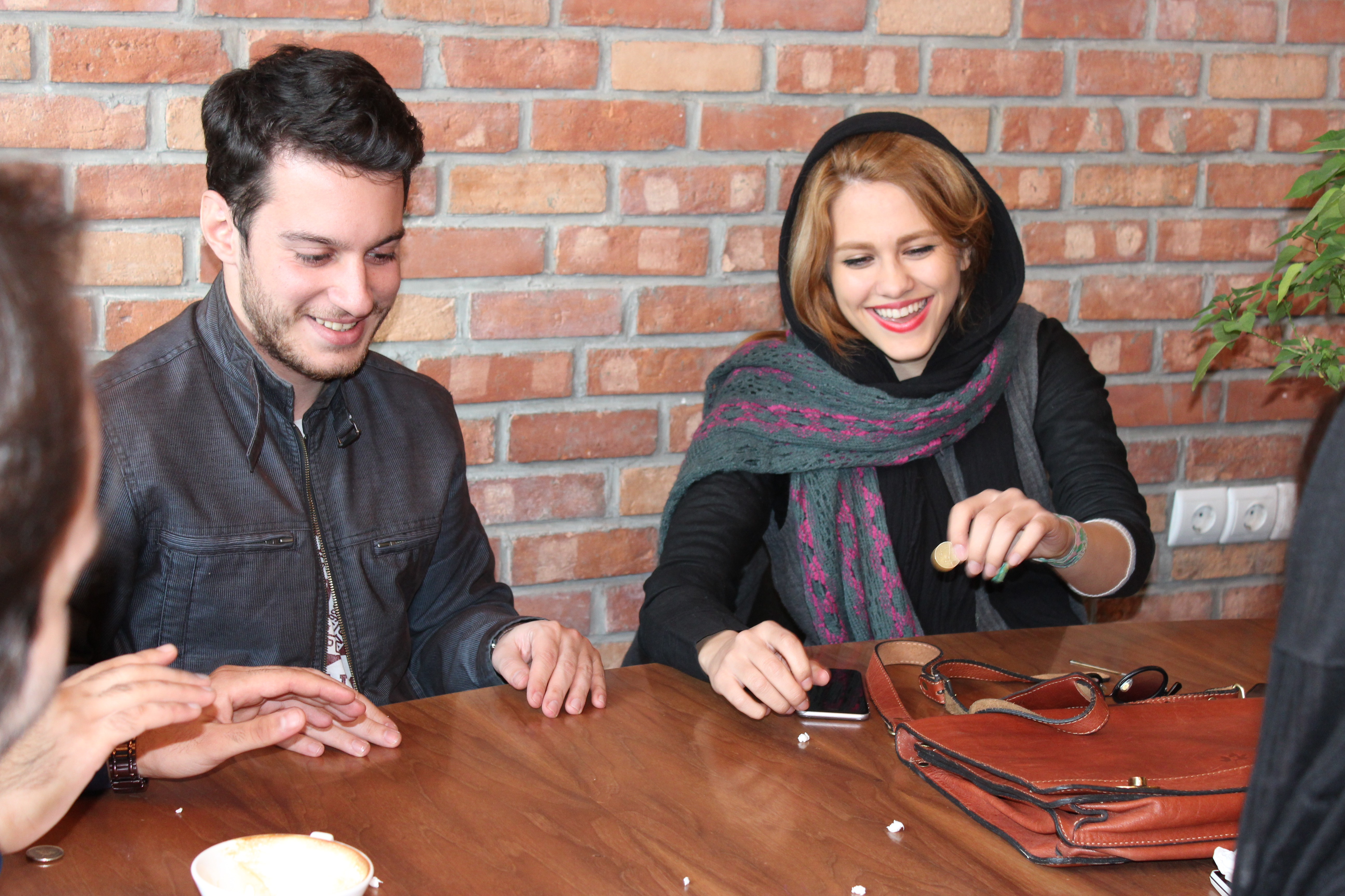 Jeunes étudiants iraniens